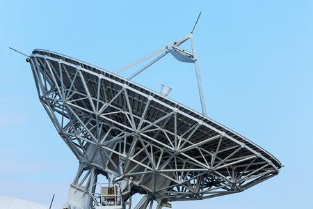 telecommunications industry: Telecommunication Satellite Stock Photo