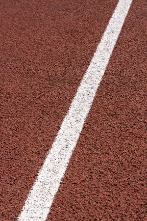 pista de atletismo: Atletismo Correr Line Track Foto de archivo