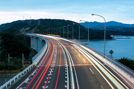 night traffic: Night Traffic in Japan