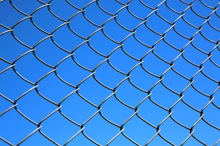link up: wire fence