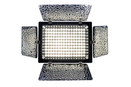 halogen lighting: LED Light  isolated on white background