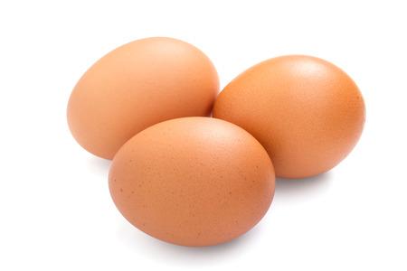 Drie eieren ge