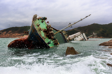 industrial accident: Shipwreck