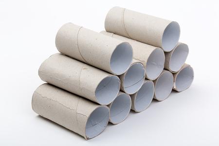 papel higienico: Higi�nico vac�o rollo de papel