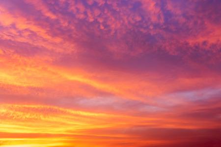 iridescent: Fantastic soft iridescent clouds sky
