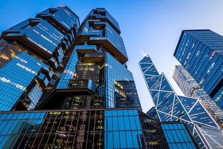 personal perspective: Hong Kong city at night Editorial