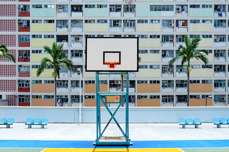 Choi hung estate, Hong Kong Stock Photo