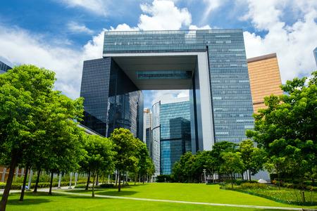 Nuovo complesso di governo centrale a Hong Kong Archivio Fotografico - 82443283