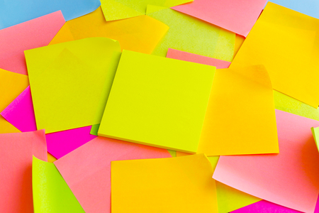 Background of colored Sticky Notes