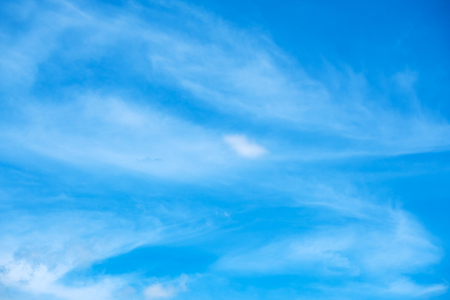 open windows: Blue sky background with tiny clouds