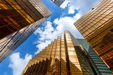 Hong Kong modern Corporate Buildings