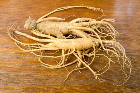 Korean fresh ginseng Standard-Bild