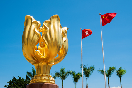 Hongkong sculpture of Bauhinia