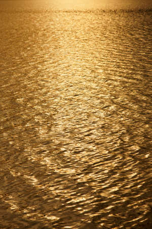 Golden water Background  Stock Photo - 9897784