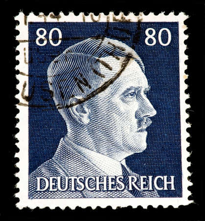 dictator: 1942 Germany Hitler postage stamp