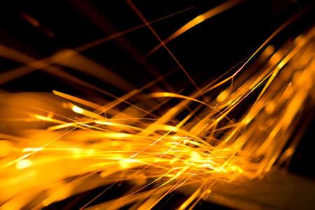 Incendie Sparkler Banque d'images