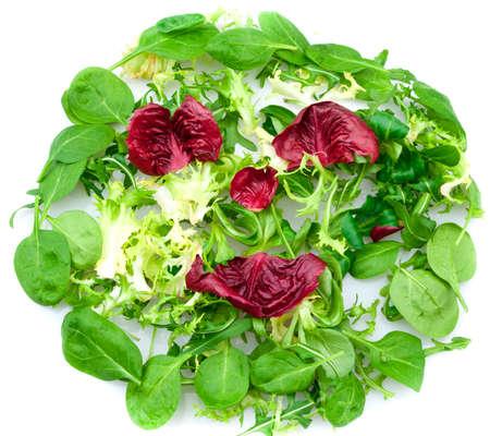 Sourire Salade Banque d'images