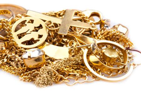 Scrap Gold Stock Photo - 12444393