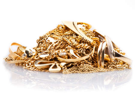 Scrap Gold   Stock Photo - 12444384