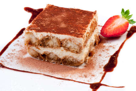 Tiramisu Dessert Archivio Fotografico