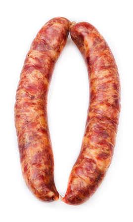 Raw pork sausage Stock Photo - 12957272