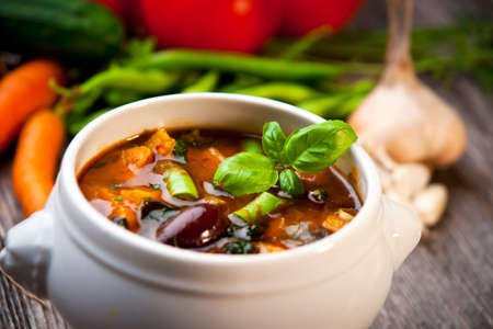 minestrone: Minestrone Soup
