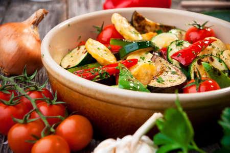 Oven geroosterde groenten