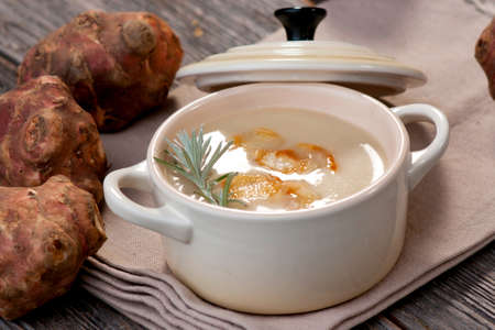 Jerusalem Artichoke Soup   photo