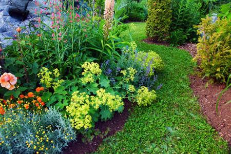 Hermoso jardín Foto de archivo - 21647116