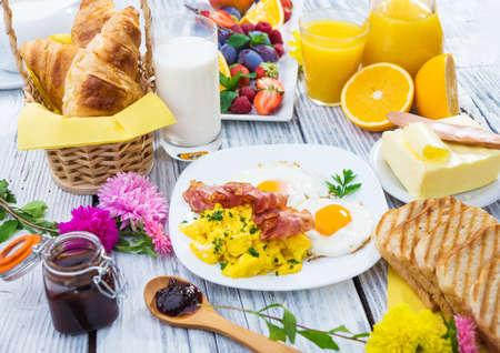 Desayuno Foto de archivo - 31456536