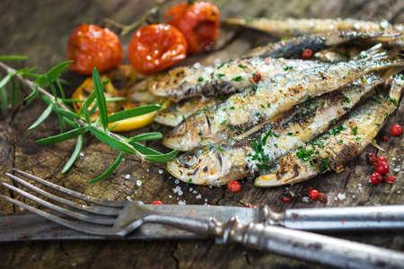Sardine grill�e