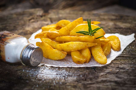 potato wedges: Potato Wedges