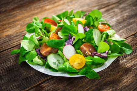 rustic food: Salad