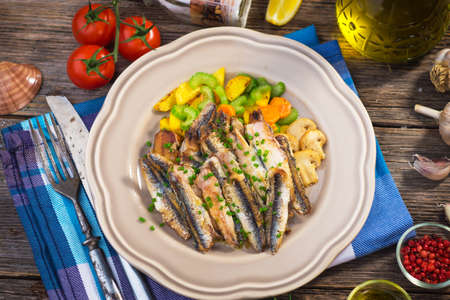 engraulis: Grilled anchovy