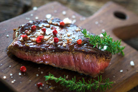 charbroiled: Juicy Fillet Steak with Fresh Herbs