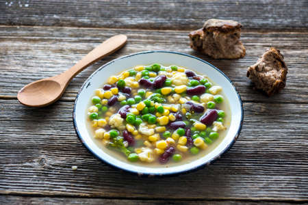 vegetable soup: Fresh vegetable soup