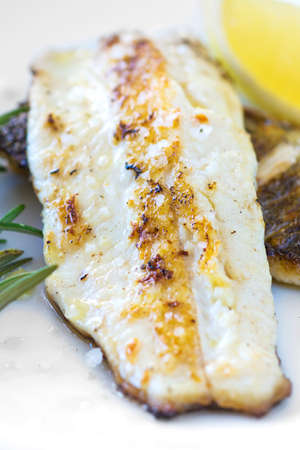 pikeperch: Grilled Fish Fillet