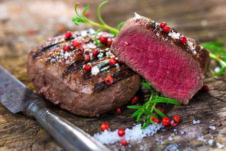 Grilled beef fillet steak Reklamní fotografie