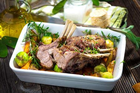 chops: Grilled Lamb Chops