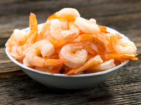 shrimp: Cooked shrimps