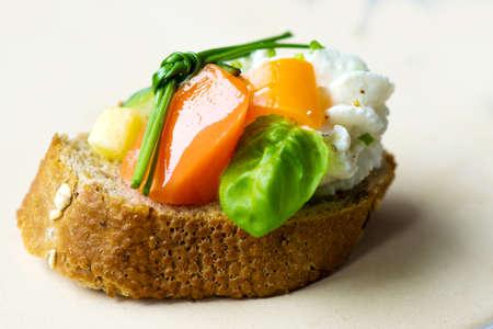 canape: Vegetable Canape