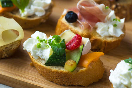 canapes: Delicious  Canapes