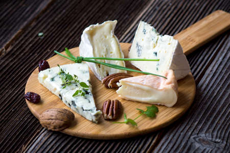 cheese platter: French cheese platter