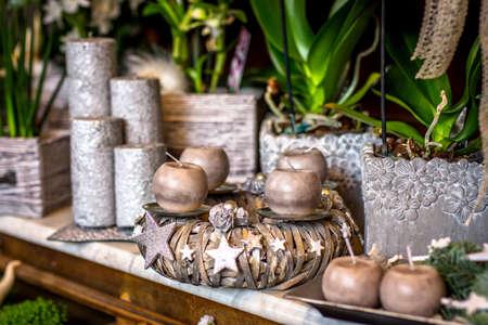 florist: Christmas florist shop