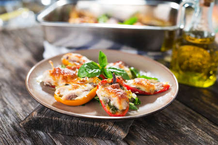 Stuffed peppers with anhovy