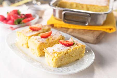 Rice dessert Standard-Bild