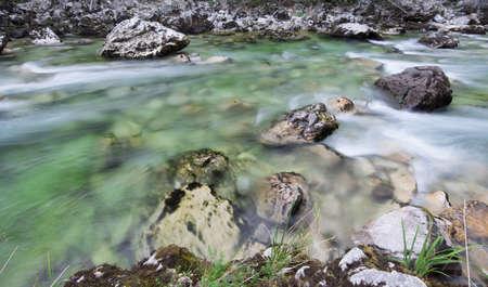 Mountain river Standard-Bild