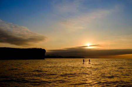 Sunset Paddle Surf