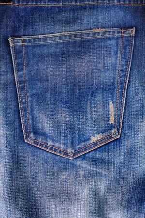 denimstof op achtergrond, jeans, lay-out, ontwerp, kopieerruimte, mock up Stockfoto