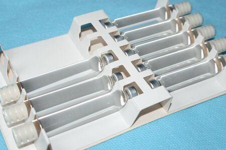capsules for dental anesthesia, articaine procaine lidocaine mepivacaine 版權商用圖片